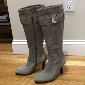 Cole Haan Nike air grey knee high boots